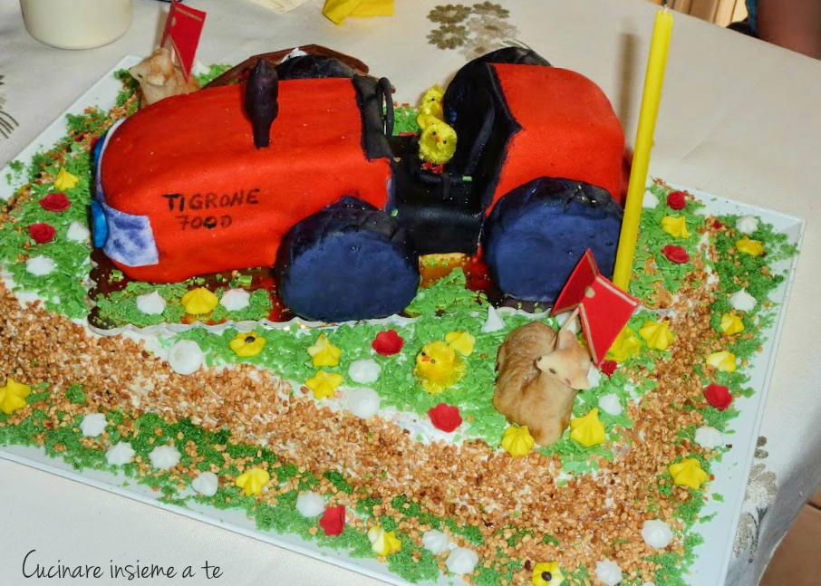 torta trattore