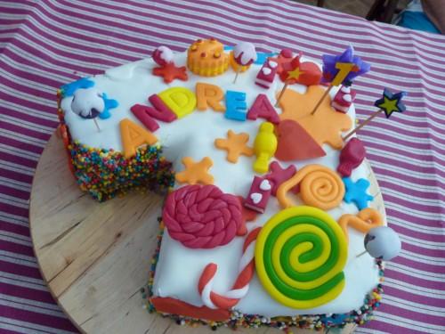 Torta Primo Compleanno Andrea Cucinare Insieme A Te