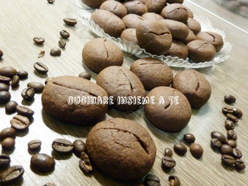 biscotti chicchi di caffè