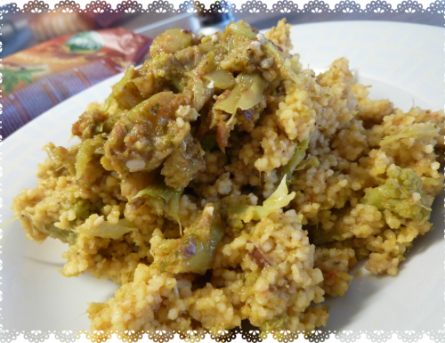 COUS-COUS DI BROCCOLI