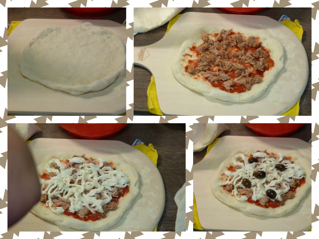 Pizza Con Pietra Refrattaria In Forno Casalingo La Pizzeria In