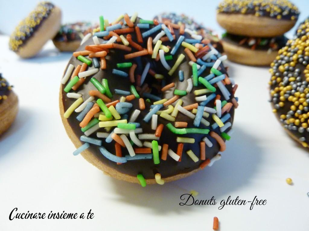 DONUTS GLUTEN FREE CON FARINA DI CASTAGNE