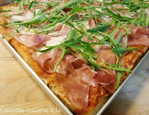 PIZZA IN TEGLIA DI FARRO INTEGRALE