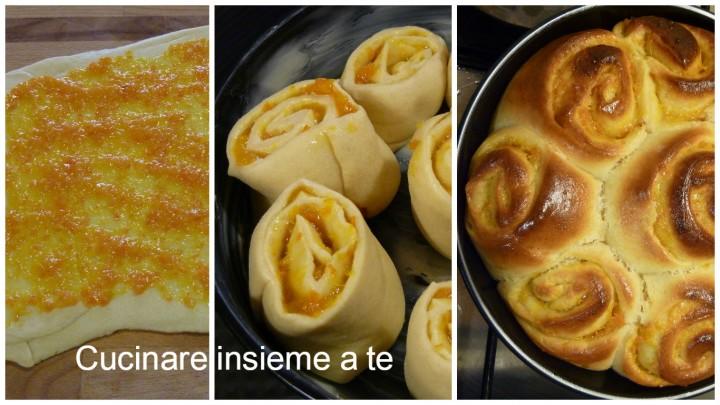 TORTA DI ROSE ALL'ARANCIA