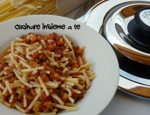 RAGU' DI LENTICCHIE ALL'ITALIANA