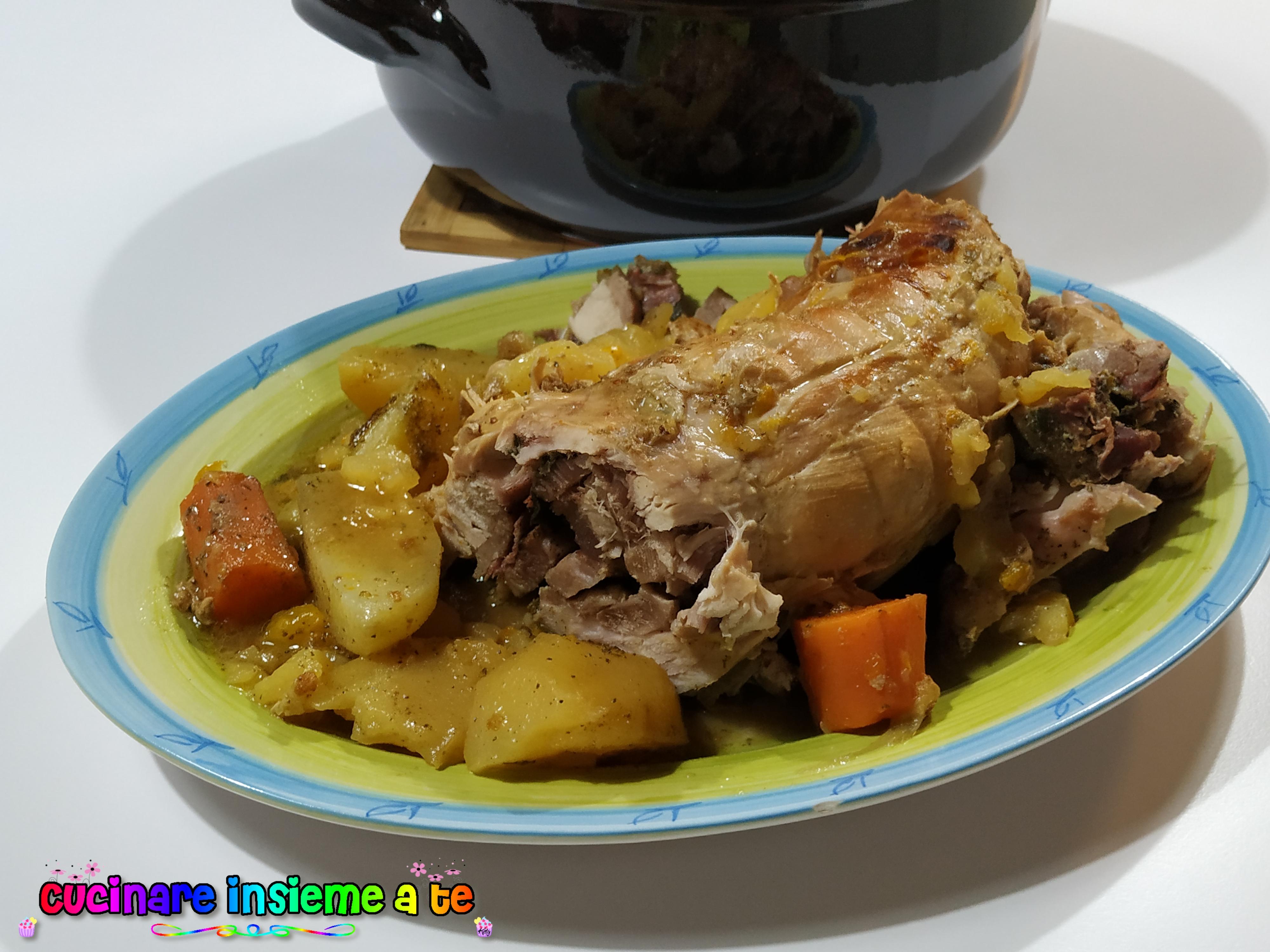 Coniglio Disossato Cotto In Umido Cucinare Insieme A Te