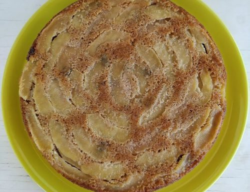 Torta con mele e mascarpone
